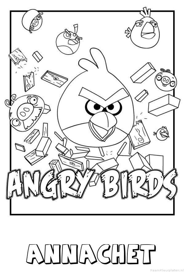 Annachet angry birds kleurplaat