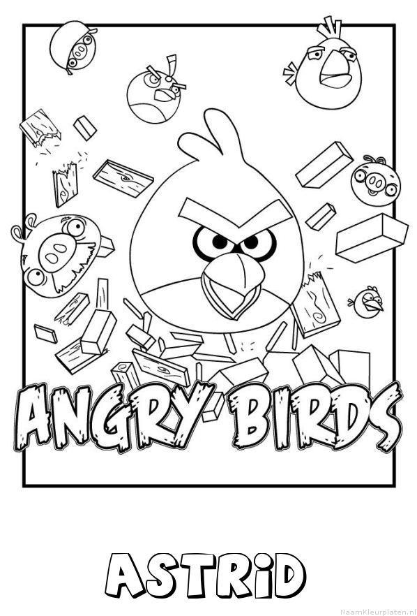 Astrid angry birds kleurplaat