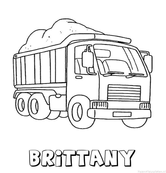 Brittany vrachtwagen kleurplaat