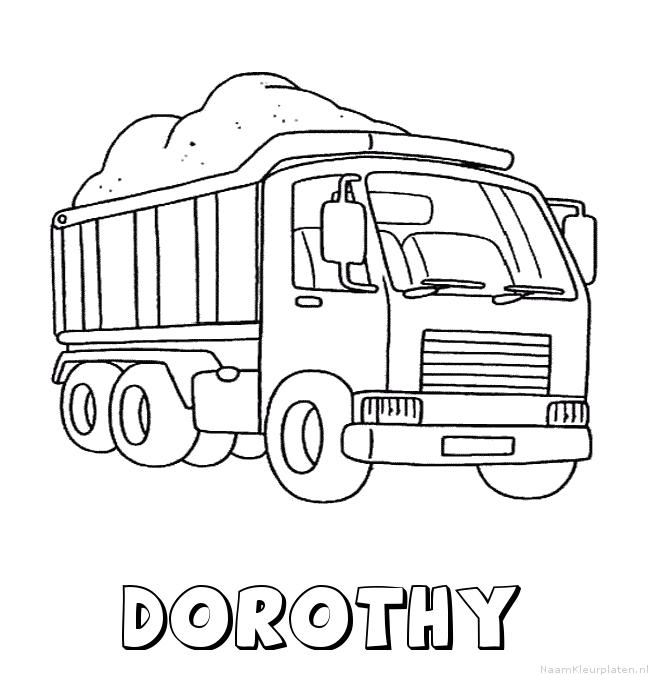 Dorothy vrachtwagen kleurplaat