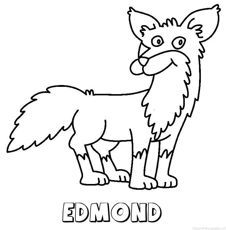 Edmond vos kleurplaat