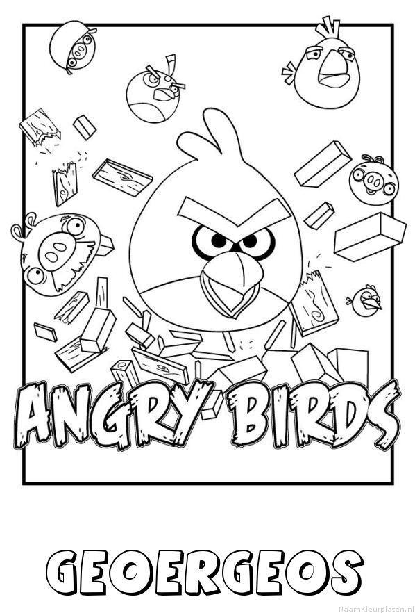 Geoergeos angry birds kleurplaat