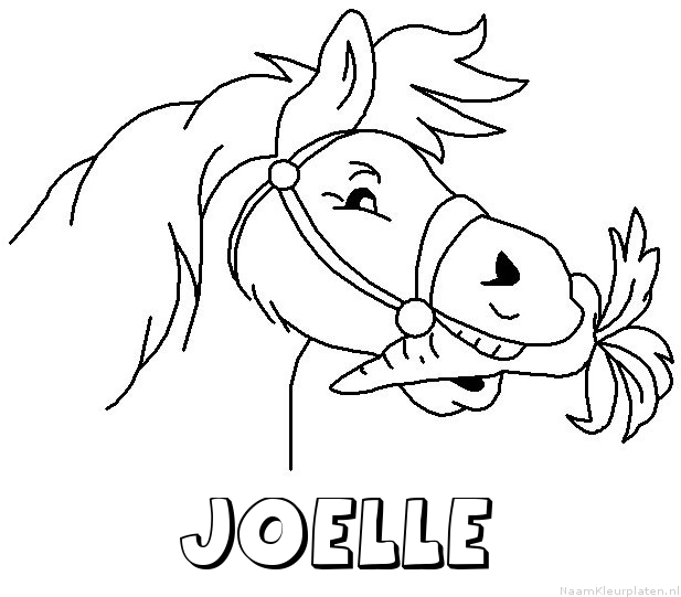Joelle Naam Kleurplaten