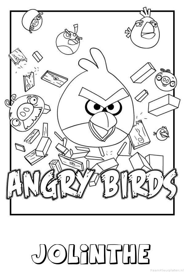 Jolinthe angry birds kleurplaat