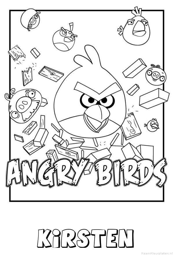 Kirsten angry birds kleurplaat