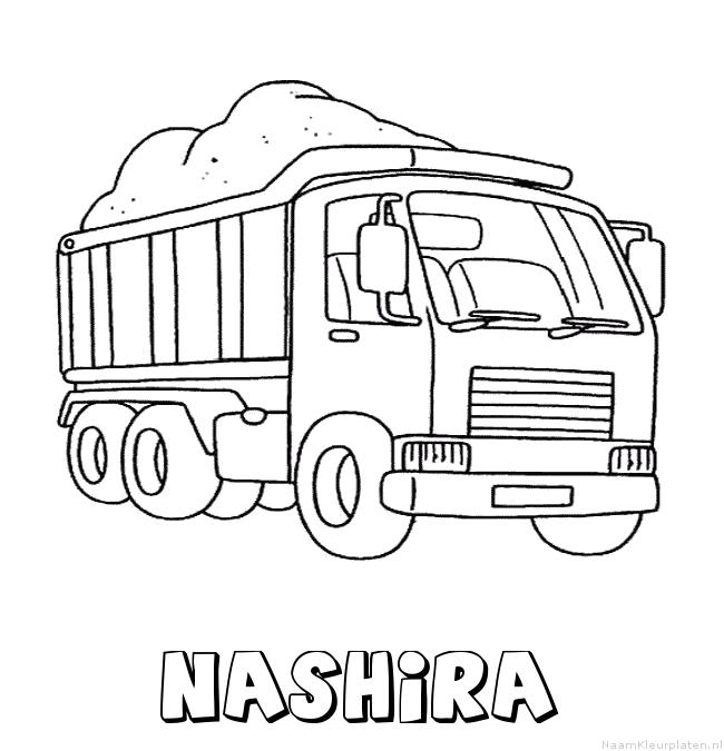 Nashira vrachtwagen kleurplaat
