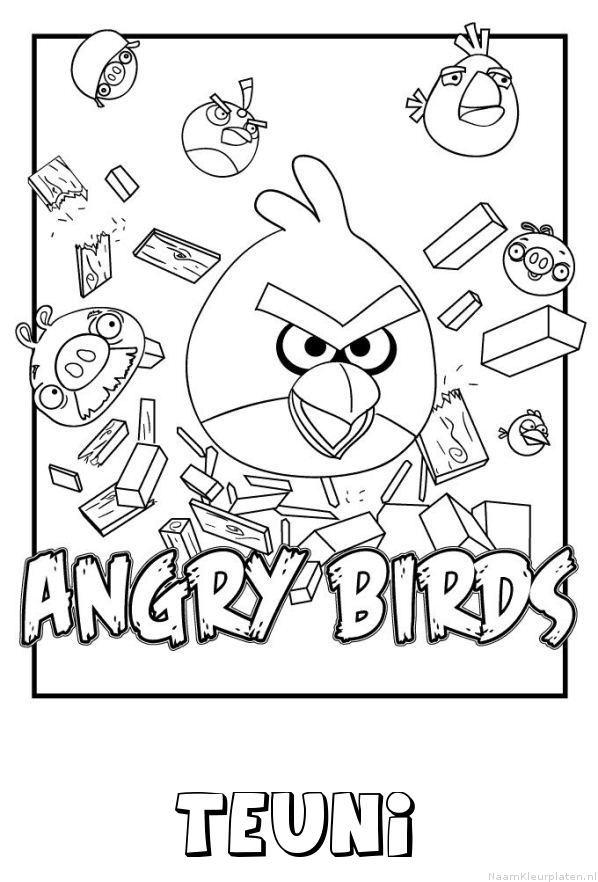 Teuni angry birds kleurplaat