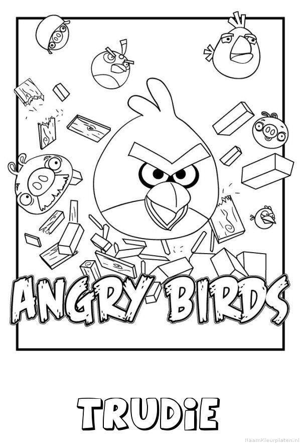 Trudie angry birds kleurplaat