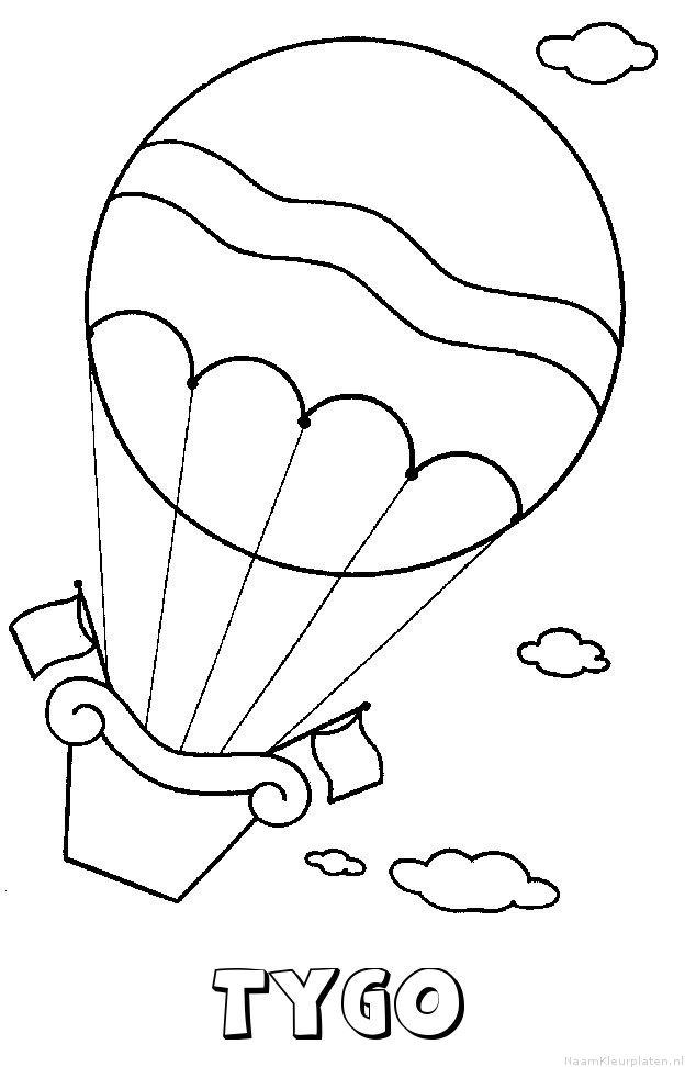 Krokobil Piet Kleurplaat Tygo Naam Kleurplaten